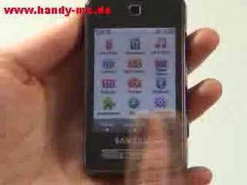 Samsung SGH F480 Bedienung