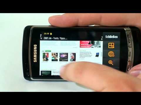 CNET.de - Samsung i8910 HD (Omnia HD) Test -  tolle Kamera, geniales Display