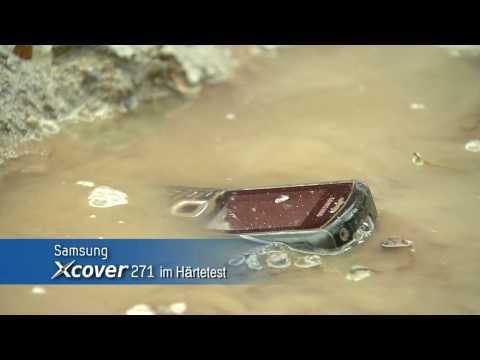 Samsung Xcover 271 B2710 im H?rtetest / Belastungstest / Extremtest / endurance testing