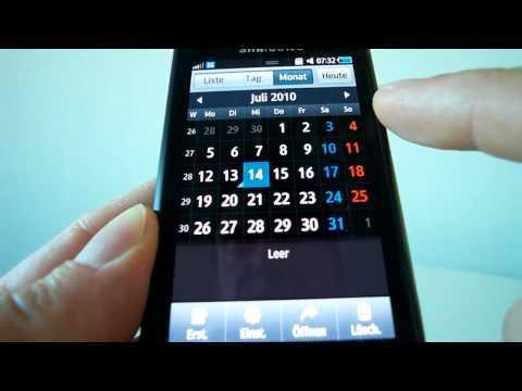 Videotest Samsung Wave (Bada OS)