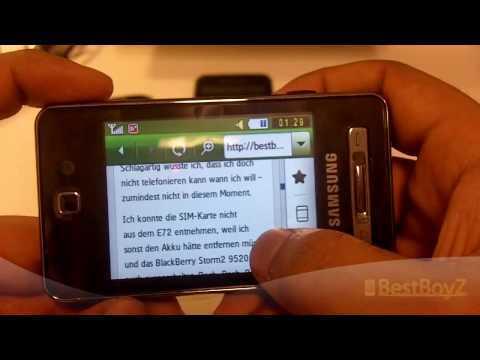 (HD) Review / Vorstellung: Samsung SGH-F480i | BestBoyZ