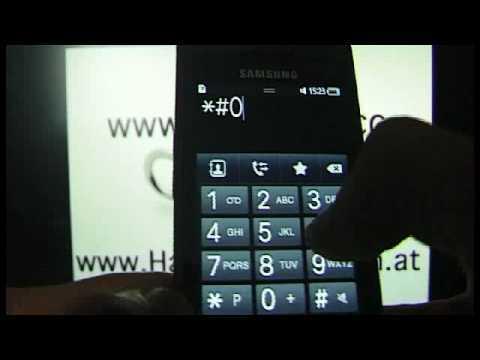 SAMSUNG WAVE S8500 Netzsperre www.SIMLOCK.cc HOW TO UNLOCK by CODE Handy Entsperren Freischalten