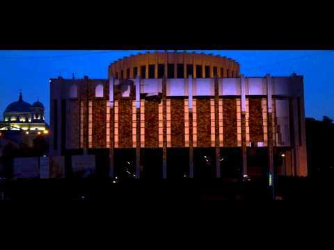 3d projection on building (pilot) (3Д проекция на фасад здания) пилот