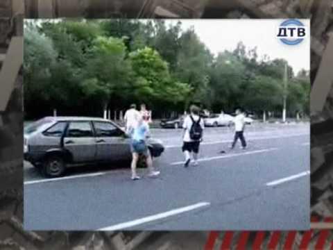 Разборка на дороге (Дорожные войны).wmv