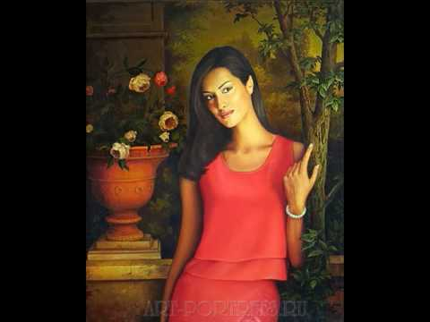 Oil Portrait Drawing Slideshow. My portrait painting